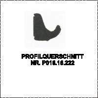 Profilquerschnitt -A-P016.16.222